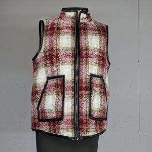 She + Sky Winter Vest